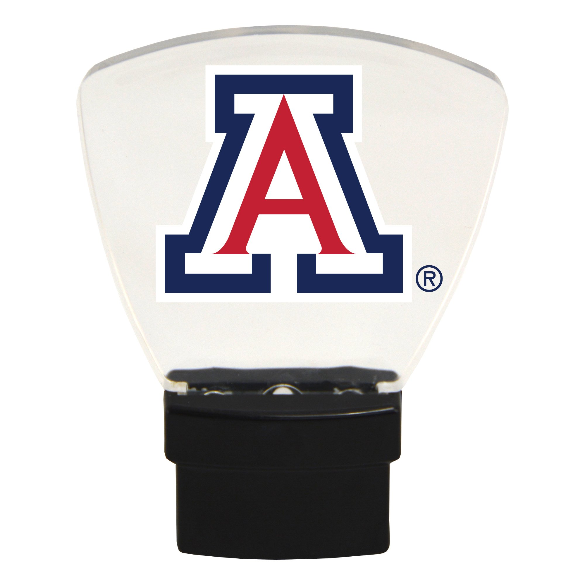 Authentic Street Signs NCAA Officially Licensed-LED NIGHT LIGHT-Super Energy Efficient-Prime Power Saving 0.5 watt, Plug In-Great Sports Fan gift for Adults-Babies-Kids Room (Arizona Wildcats)