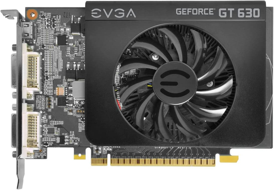 EVGA 02G-P3-2639-KR GeForce GT 630 2048MB GDDR3 DVI and HDMI Graphics Card