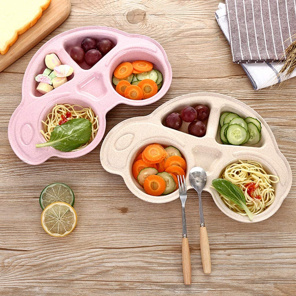 Car Design Mini Mat Silicone Platebowl Infant Silicone Bowl Portable Non Slip Placemat Child Self Feeding Plate TAOtTAO Baby Silicone Placemat Silicone Toddler Feeding Plates
