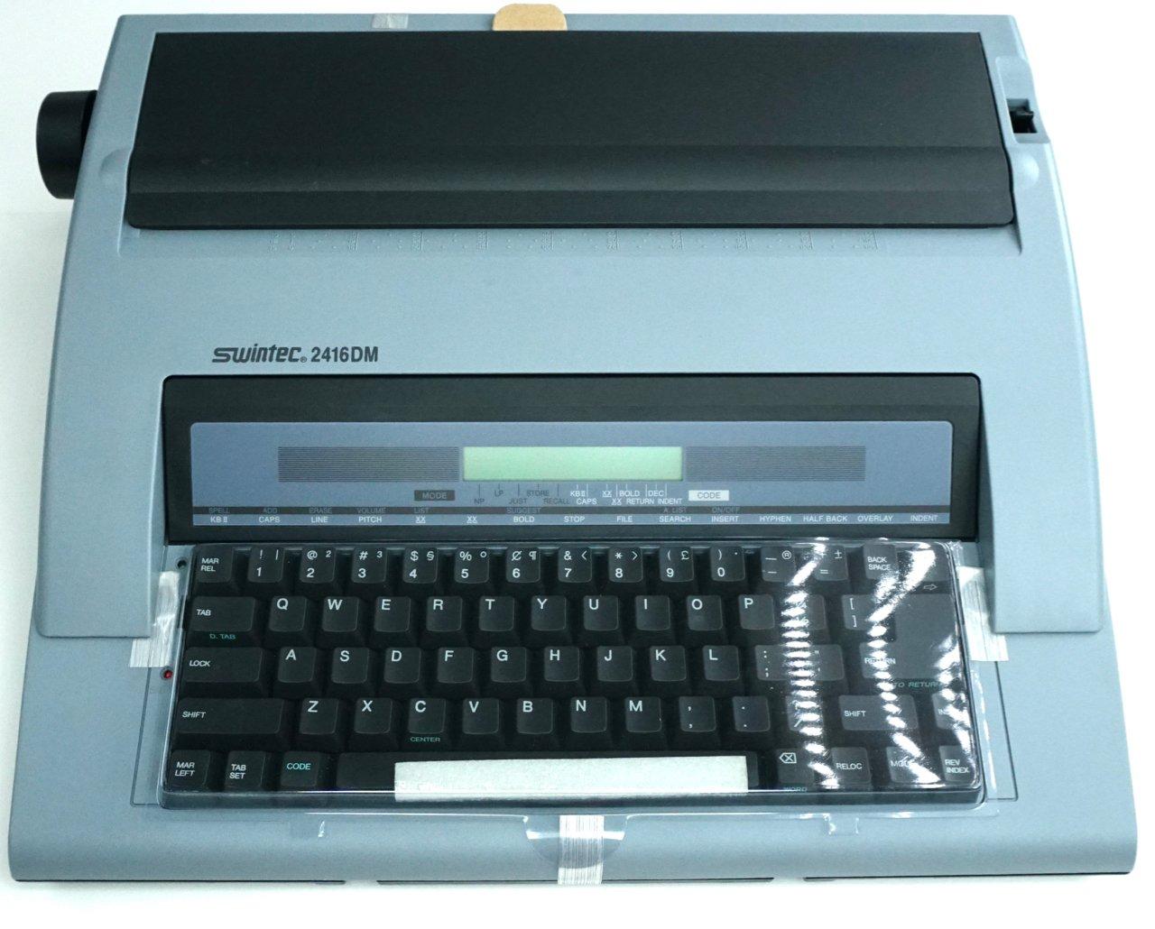 Brand New Swintec 2416DM Electronic Portable Typewriter (16K Memory) by Swintec