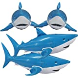 Jet Creations Inflatable Animals Shark 24 inch Long- Best for Party Pool Supplies Favors Birthday Gifts for Kids and…
