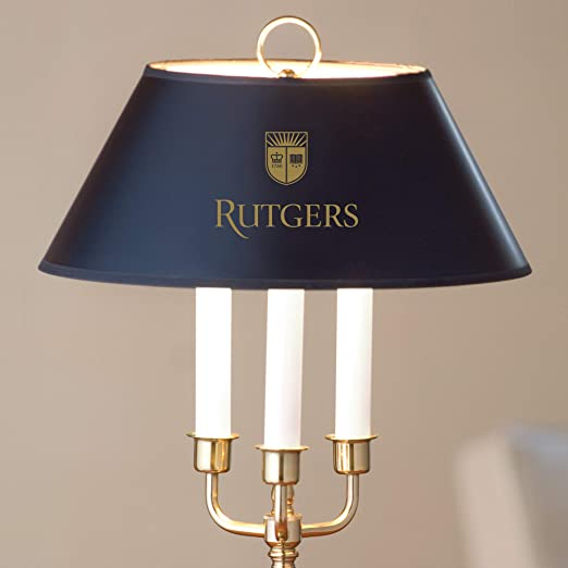 LA HART Rutgers University Lamp in Brass /& Marble M