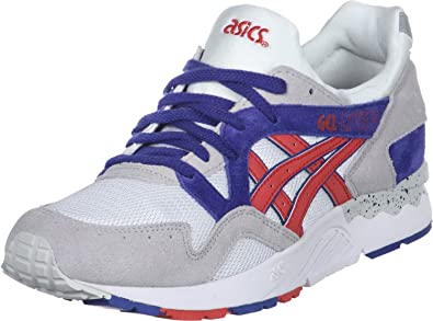 Usando una computadora Hamburguesa diario  Asics Gel Lyte V 5 - White Fiery Red: UK 6/EUR 39/US 7: Amazon.co.uk: Shoes  & Bags