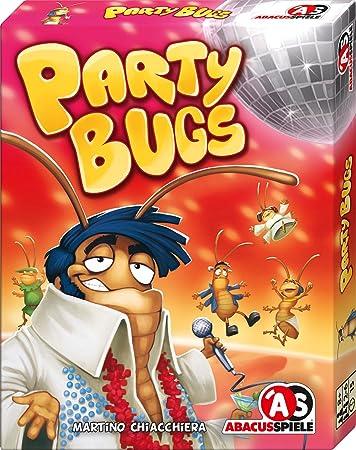 ABACUSSPIELE 08181 - Party Bugs, Kartenspiel: Amazon.de: Spielzeug