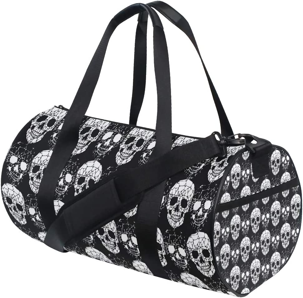 ALAZA Vintage Tropical Ocean Sports Gym Duffel Bag Travel Luggage Handbag Shoulder Bag with Shoes Compartment for Men Women