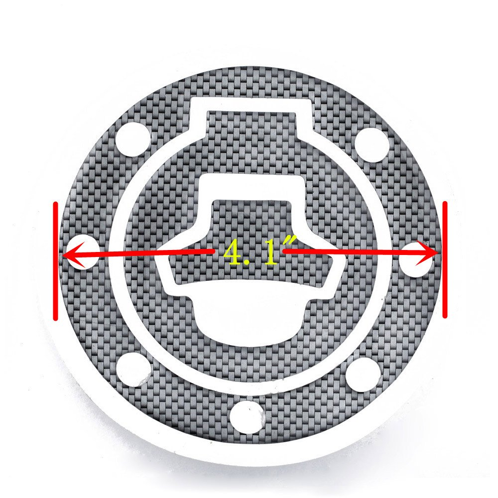 Alina-Shops New Carbon-Look Fuel//Gas Cap Cover Pad Sticker For Suzuki Katana GSX 600F 750F R 600 750