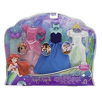 Disney Princesas Vestidos de Ariel (Mattel Y0937)