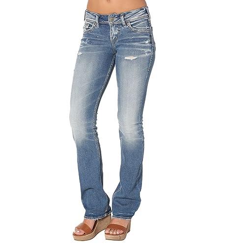 Silver Jeans Co. Suki Slim Boo...