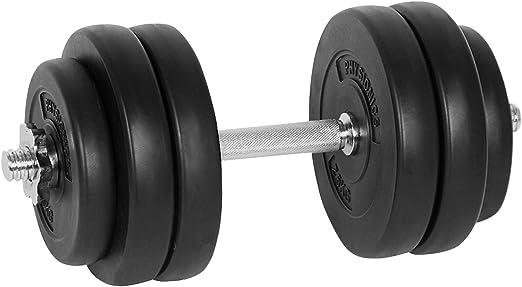 15 kg Kurzhantelset Hantelset Hanteln Gewichte Hantelscheiben Training Fitness