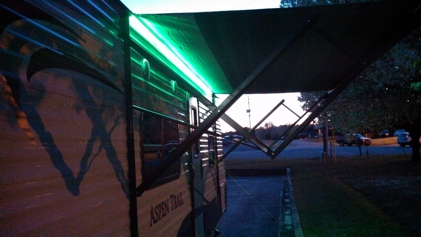 RV Recreational Vehicle Awning LED Light Strip RGB Multi Colored with 44 Key IR Remote and Power Source (4 Foot Length) by RC Lighthouse (Image #4)