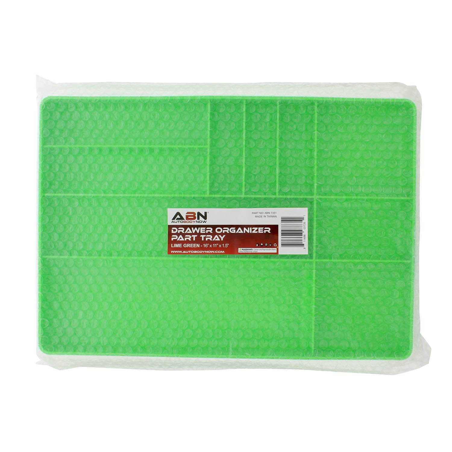 ABN | Toolbox Drawer Organizer Tool Organizer Tool Tray - Tool Drawer Organizer Sorting Tray, 16x11x1.5'' Inch in Green by ABN (Image #6)