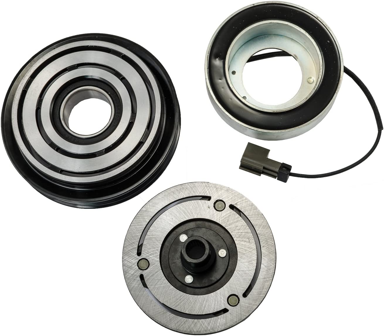 AC COMPRESSOR CLUTCH KIT PULLEY BEARING PLATE 2011-2014 Chrysler Sebring 2.4L