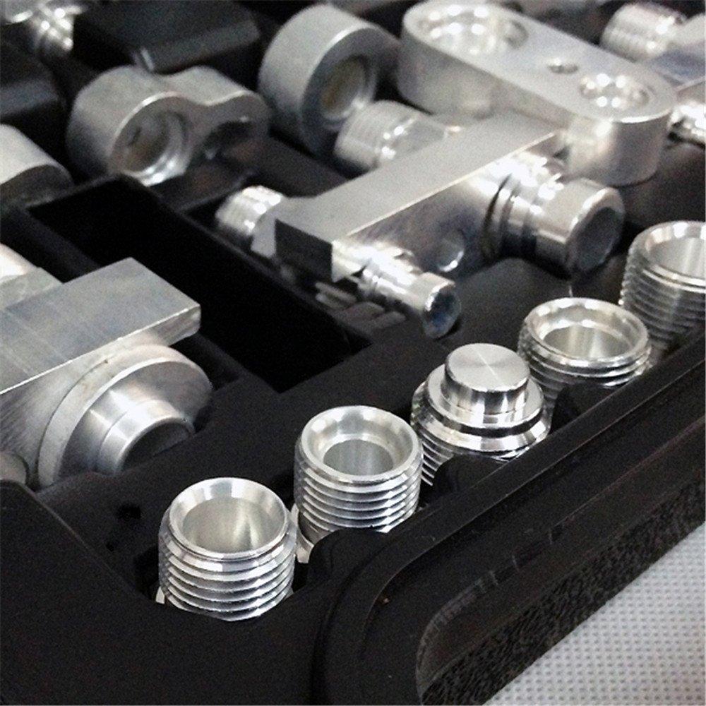 HUKOER Automotive Air Conditioning Leak Detector Leak Detection Tools for Car Truck Excavator A/C Compressor Condenser by HUKOER (Image #5)