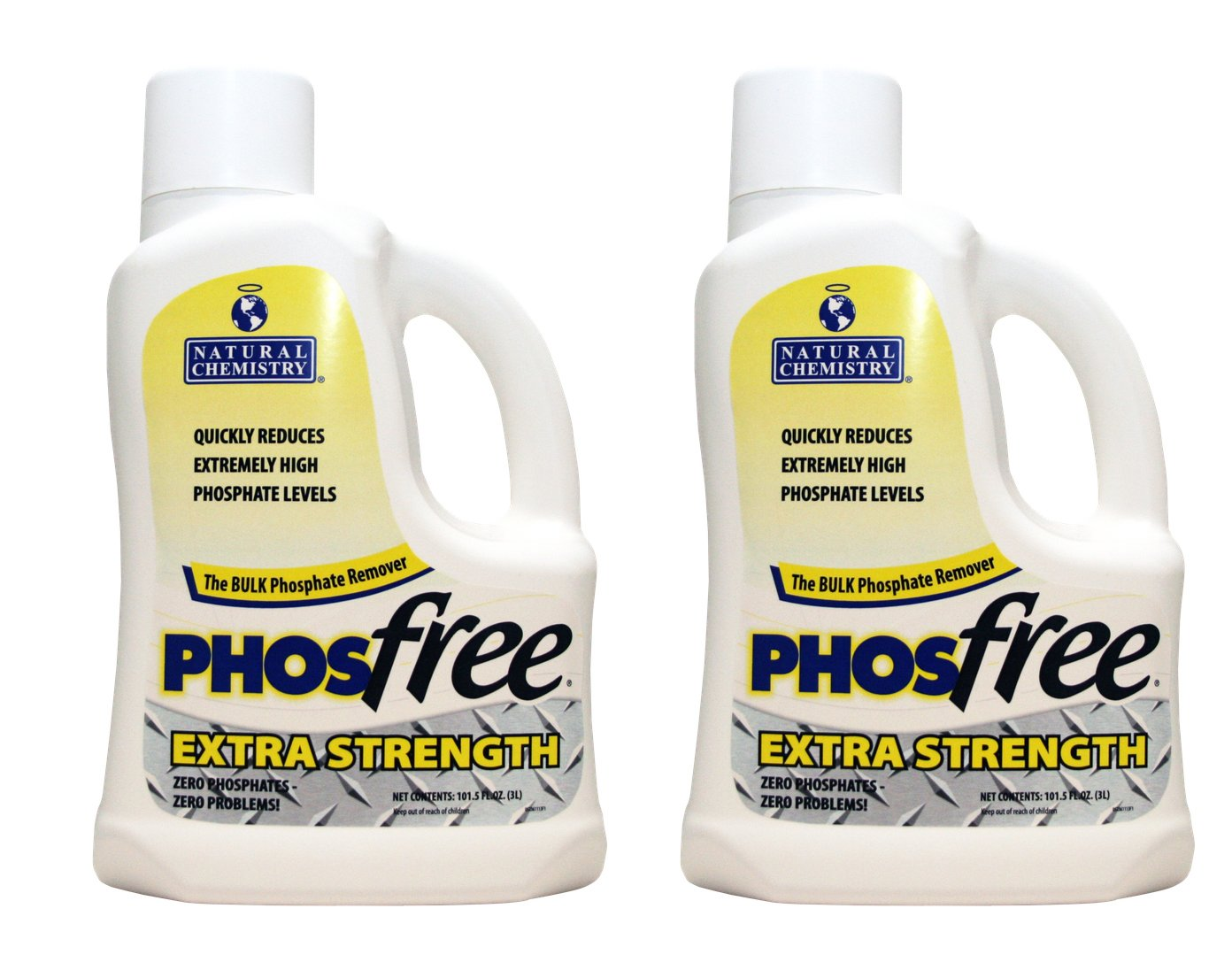 Natural Chemistry PhosFree Extra Strength (3 L) (2 Pack) by Natural Chemistry