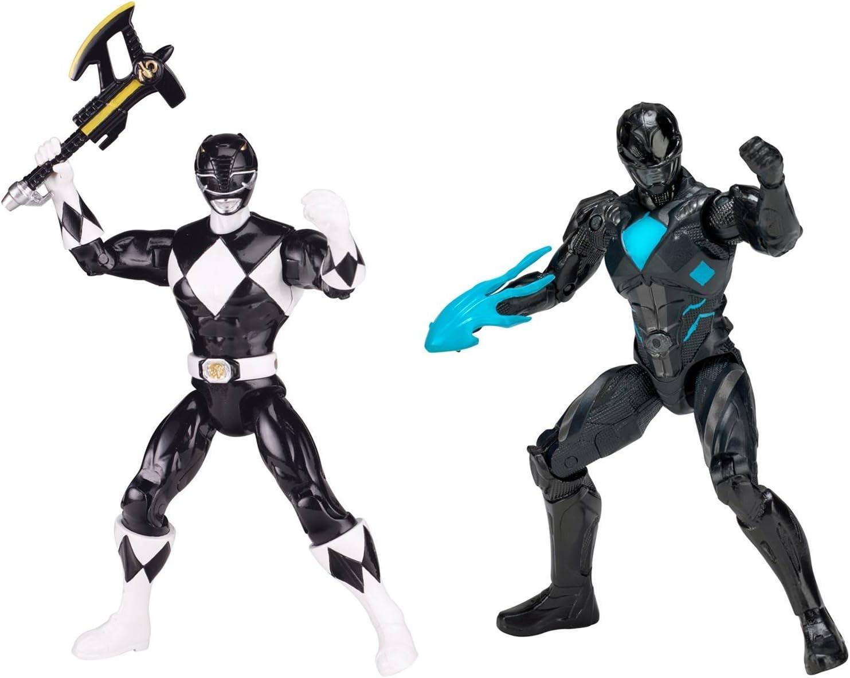NEW Power Rangers Mighty Morphin Movie 5-inch Black Ranger Action Figure 2017