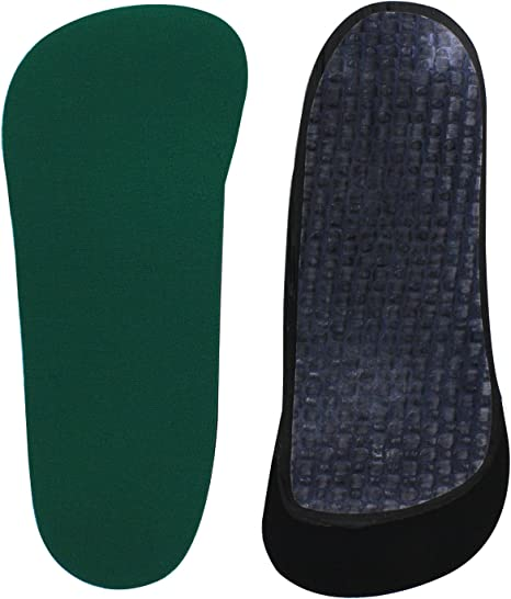 Spenco 3//4 Orthotic Thinsole Arch Support Insole Insert Shoe Size Men 12//13.5 #5