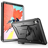 iPad Pro 11 '' Case 2018 Release, SUPCASE with Built-in Screen Protector [Unicorn Beetle PRO Series] Kickstand Full-Body Rugged Protective Case for Apple iPad Pro 11 Inch 2018 Only (Black)