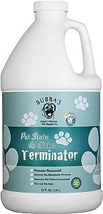 BUBBAS Super Strength Commercial Enzyme Cleaner - Pet Odor Eliminator  