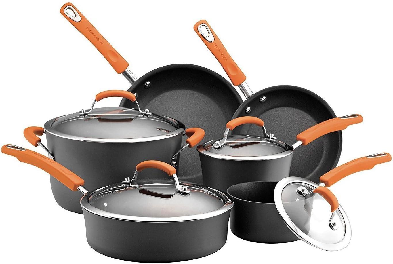 Amazon.com: Premium Cookware Set 7 Piece RACHAEL RAY Exquisite