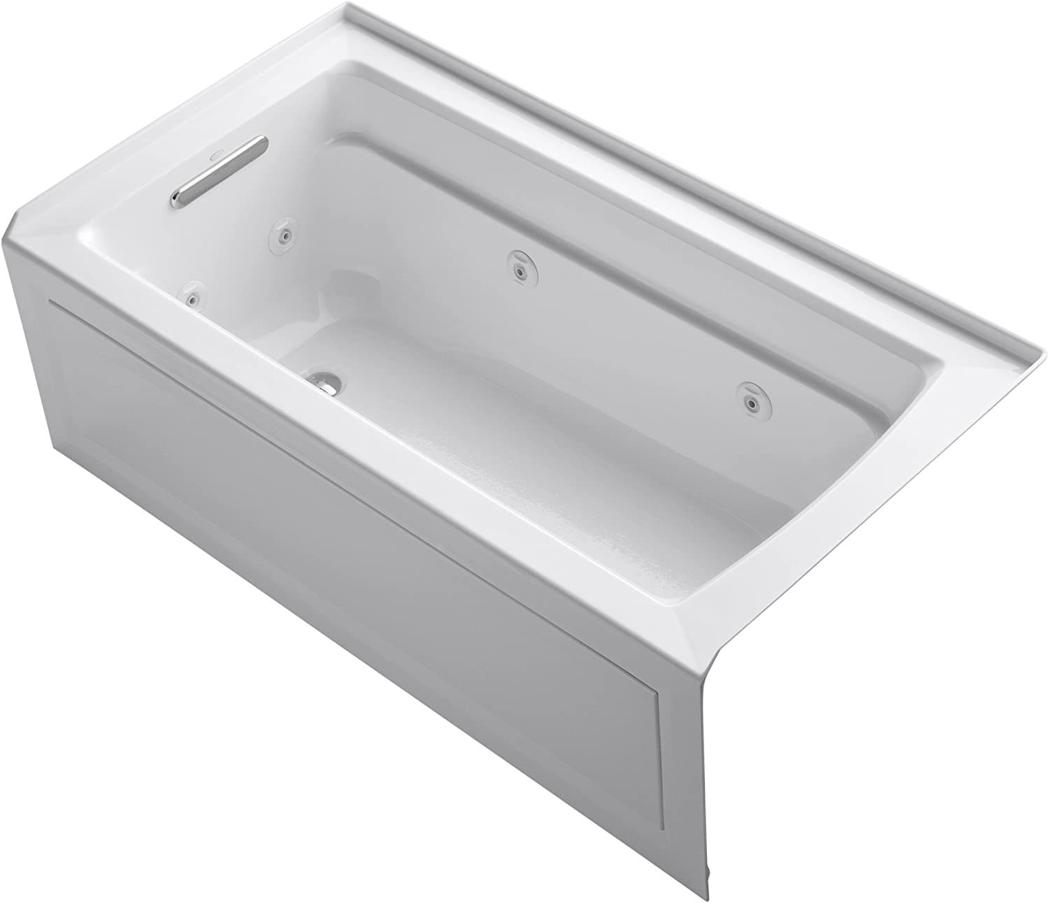 Best Whirlpool Tubs-Best performance: KOHLER K-1122-LA-0 Archer Tub