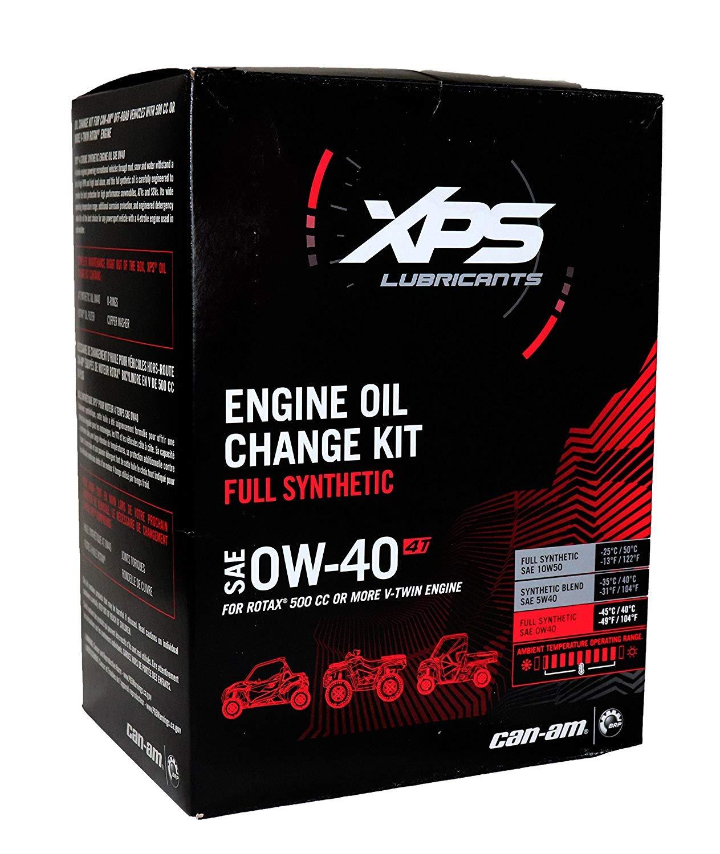 Can Am Maverick Commander Renegade Outlander Oil Change Kit 4 stroke XPS Full Synthetic #703500905