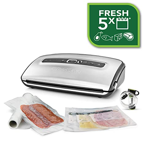 Foodsaver FFS016X Envasadoras al vacío con cutter incorporado