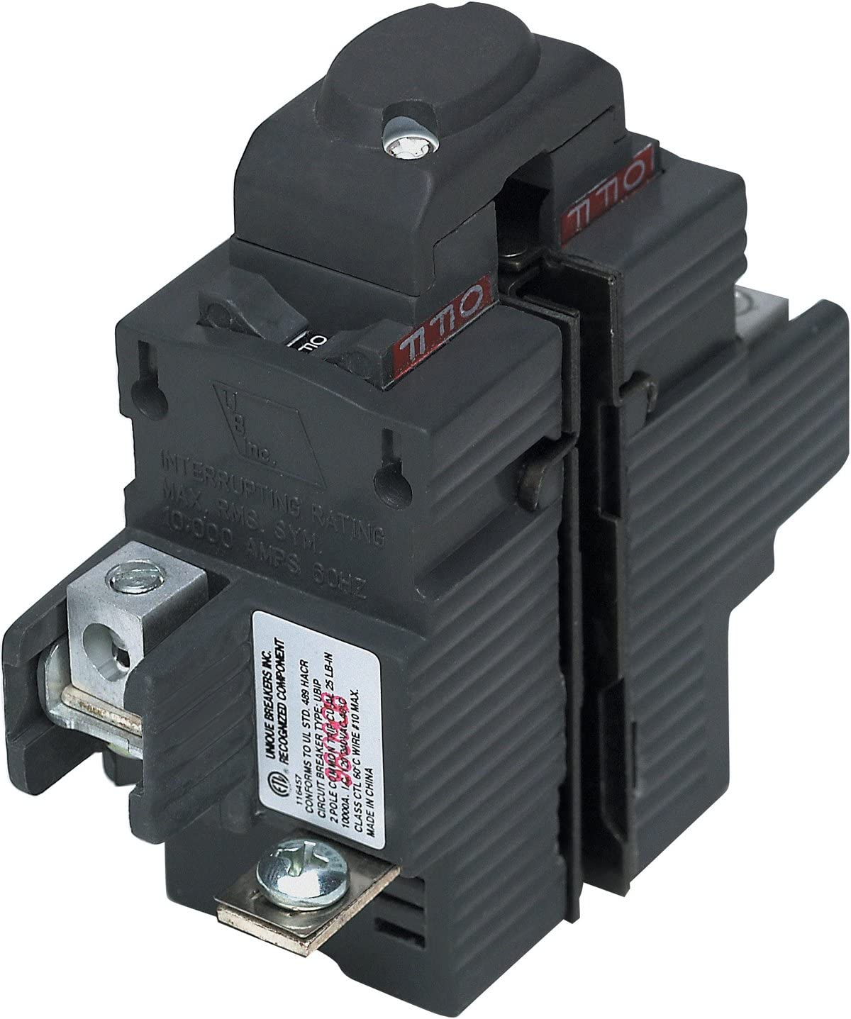 UBIP220-New Pushmatic P220 Replacement. Two Pole 20 Amp Circuit Breaker Manufactured by Connecticut Electric.