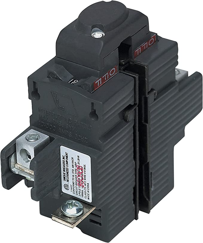 UBIP250-New Pushmatic P250 Replacement. Two Pole 50 Amp Circuit Breaker Manufactured by Connecticut Electric.