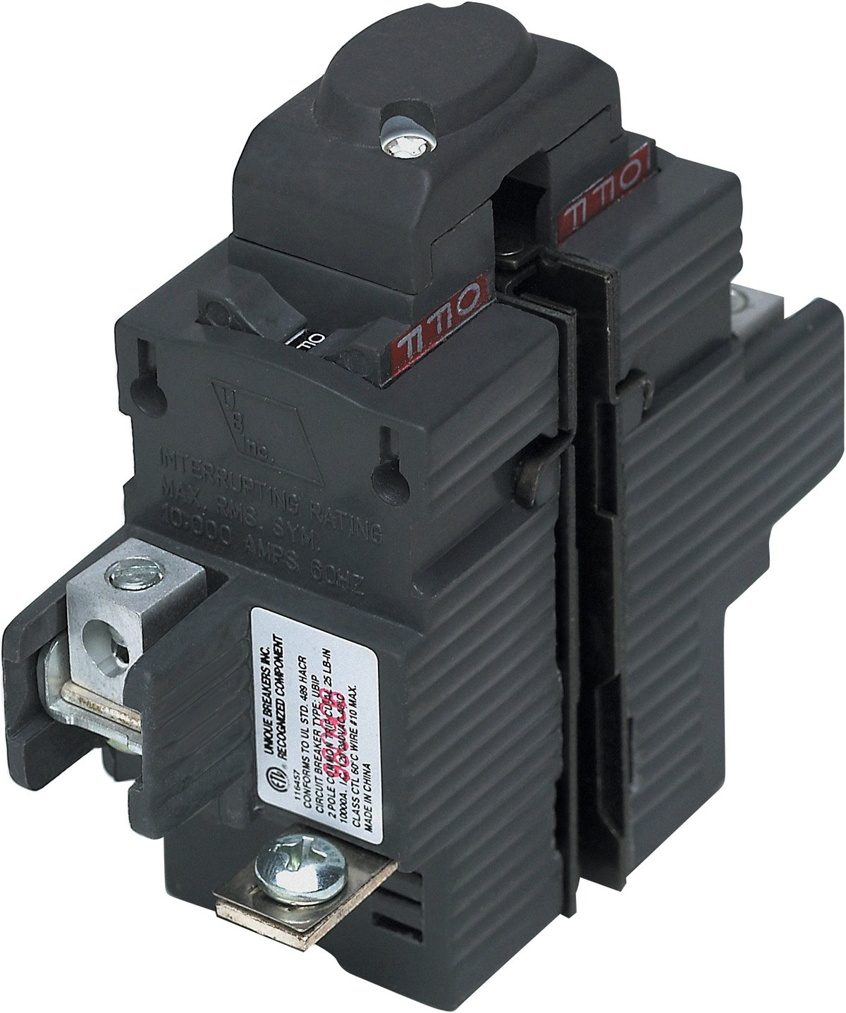 UBIP260-New Pushmatic P260 Replacement. Two Pole 60 Amp Circuit Breaker Manufactured by Connecticut Electric.