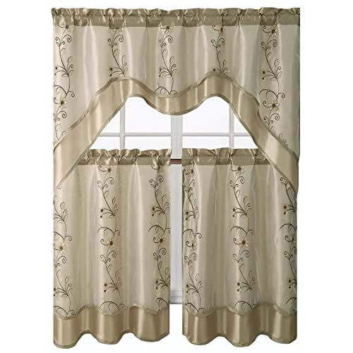 Window Curtains For Kitchen: Amazon.com