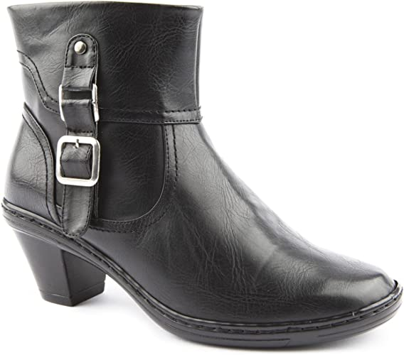 Caravelle Ladies Wide Fit York Boot