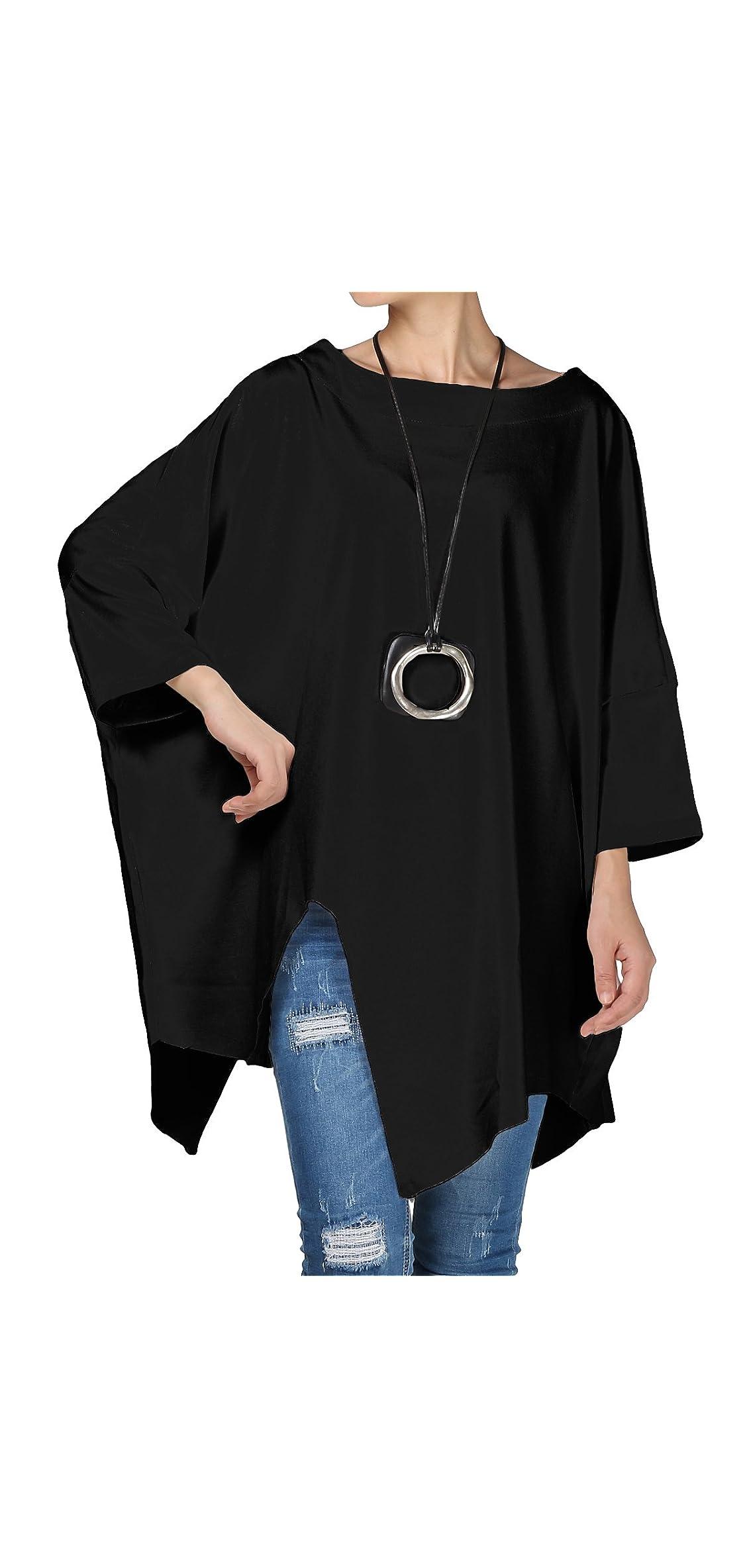 Women's Plus Size Shirt Pullover Tunic Tops Asymmetry