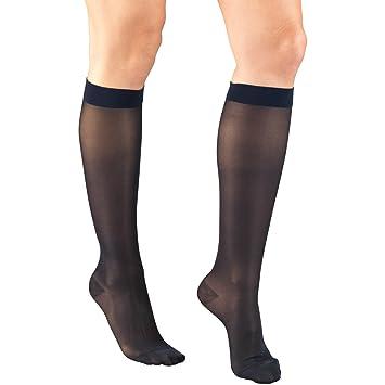 4ec685b14 Amazon.com  Truform Women s 15-20 mmHg Sheer Knee High Compression ...