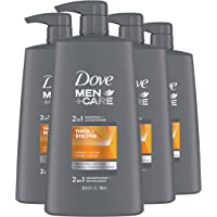 Dove Men+Care 2 in 1 Shampoo and Conditioner For men with Thinning or Fine Hair Thick and Strong For Thicker Stronger…