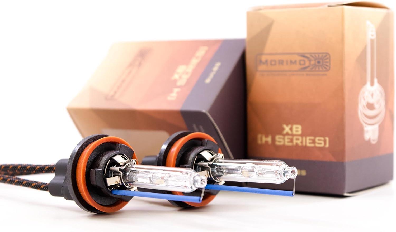 XB 6500K Morimoto Kelvin Rating H11B H9 H8