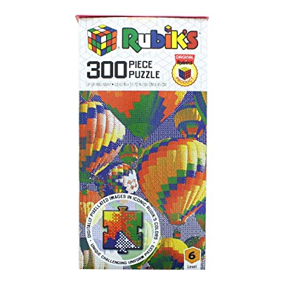 The Mazel Company Rubiks 300 Piece Jigsaw Puzzle | Up Up Away: Toys & Games