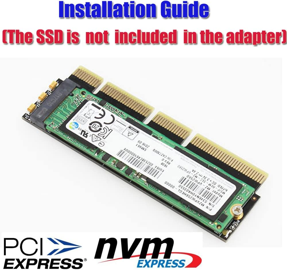 HLT M.2 NGFF NVMe SSD to PCIE 3.0 X16//X8//X4 Adapter for 1U//2U Server and Low Profile PC