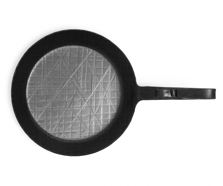 sart/én de hierro forjado con mango Di/ámetro 24 cm Sart/én de hierro forjado ensdorfer casco
