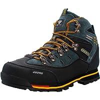 Zapatos de Senderismo para Hombre Zapatillas de Deporte Impermeables Antideslizantes con Cordones de caña Alta Escalada…