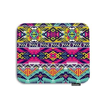 amazon com moslion aztec mouse pad tribal geometric ethnic rh amazon com