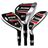 Customised Acer XDS hybrid right handed graphite gents regular select your grip size (standard/midsize/jumbo), head cover included, select the number of your club (3 to 9, PW, GW, SW)