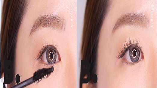 Amazon.com : B. by Banila Eyecrush Circle Volume Mascara in shade Bluish Black, for soft, volume-plumping lashes, Paraben Free : Beauty