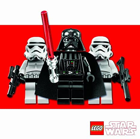 Amazon Lego Star Wars Ls006 General Birthday Greeting Card