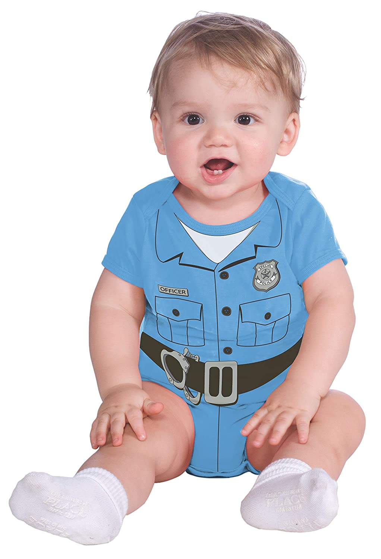 Rubies Costume My First Halloween Police Officer Onesie Costume