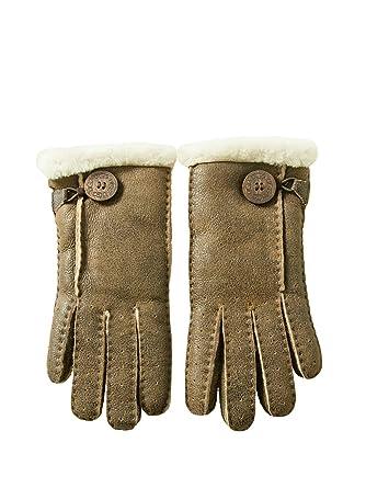 gants cuir femme ugg