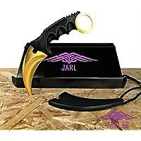 JARL French Brand - 13 modèles - Couteau de Survie Couteau de Chasse Couteau Tranchant avec Coque de Couteau pour Chasse Camping