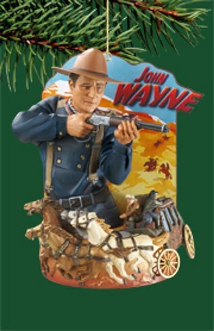 "Carlton Heirloom ""John Wayne In Stagecoach"" Christmas Ornament - Amazon.com: Carlton Heirloom"