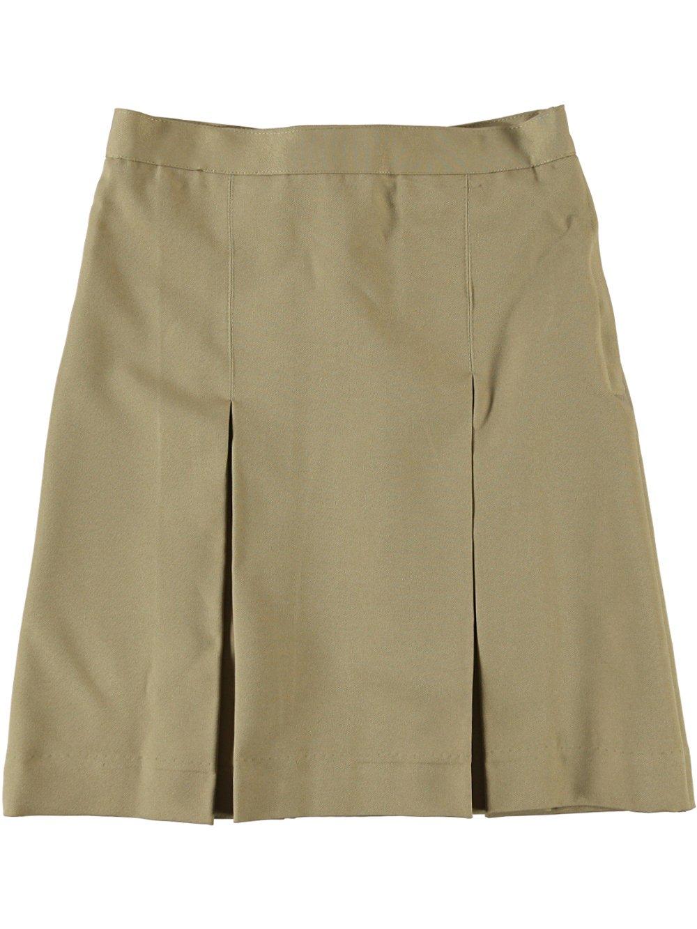 Cookie's Brand Big Girls' Box Pleat Skirt - khaki, 12