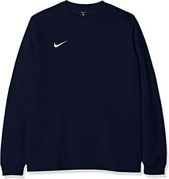 nike m crew fleece team club 19 sweat-shirt homme