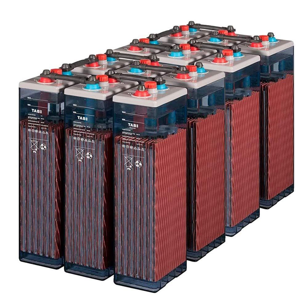 Baterías Solares Estacionarias OPzS 2V 350-525Ah TAB 5-12 unds   +20 Años Vida Útil Instalaciones Fotovoltaicas